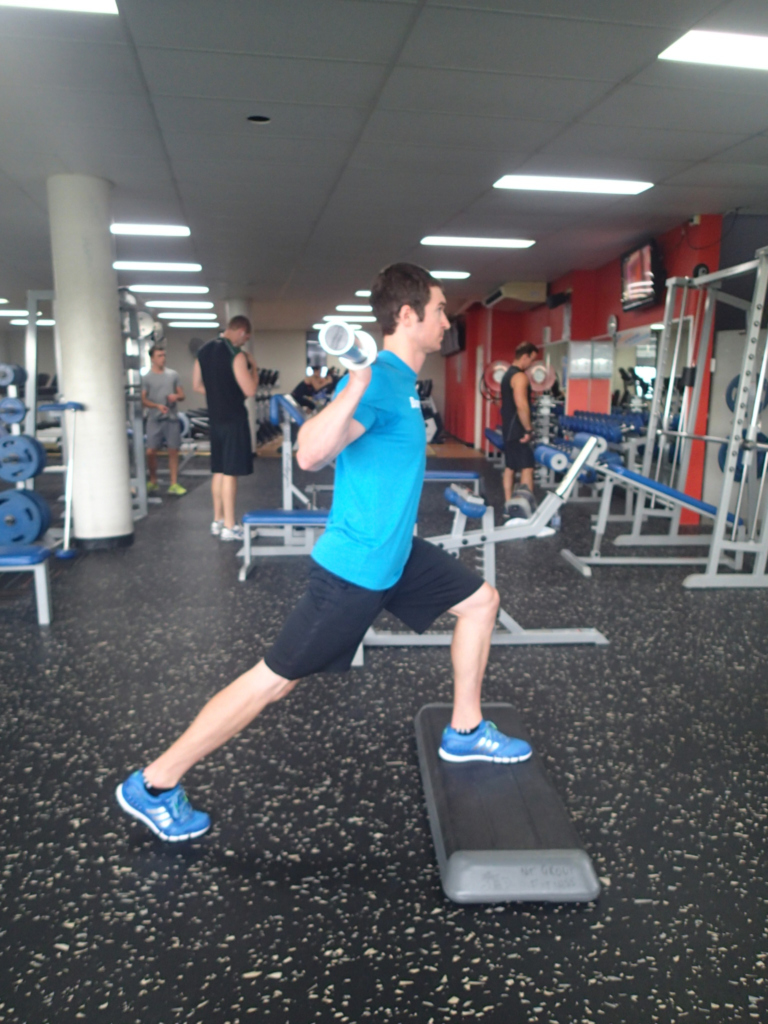Front Foot Elevated Split Squats