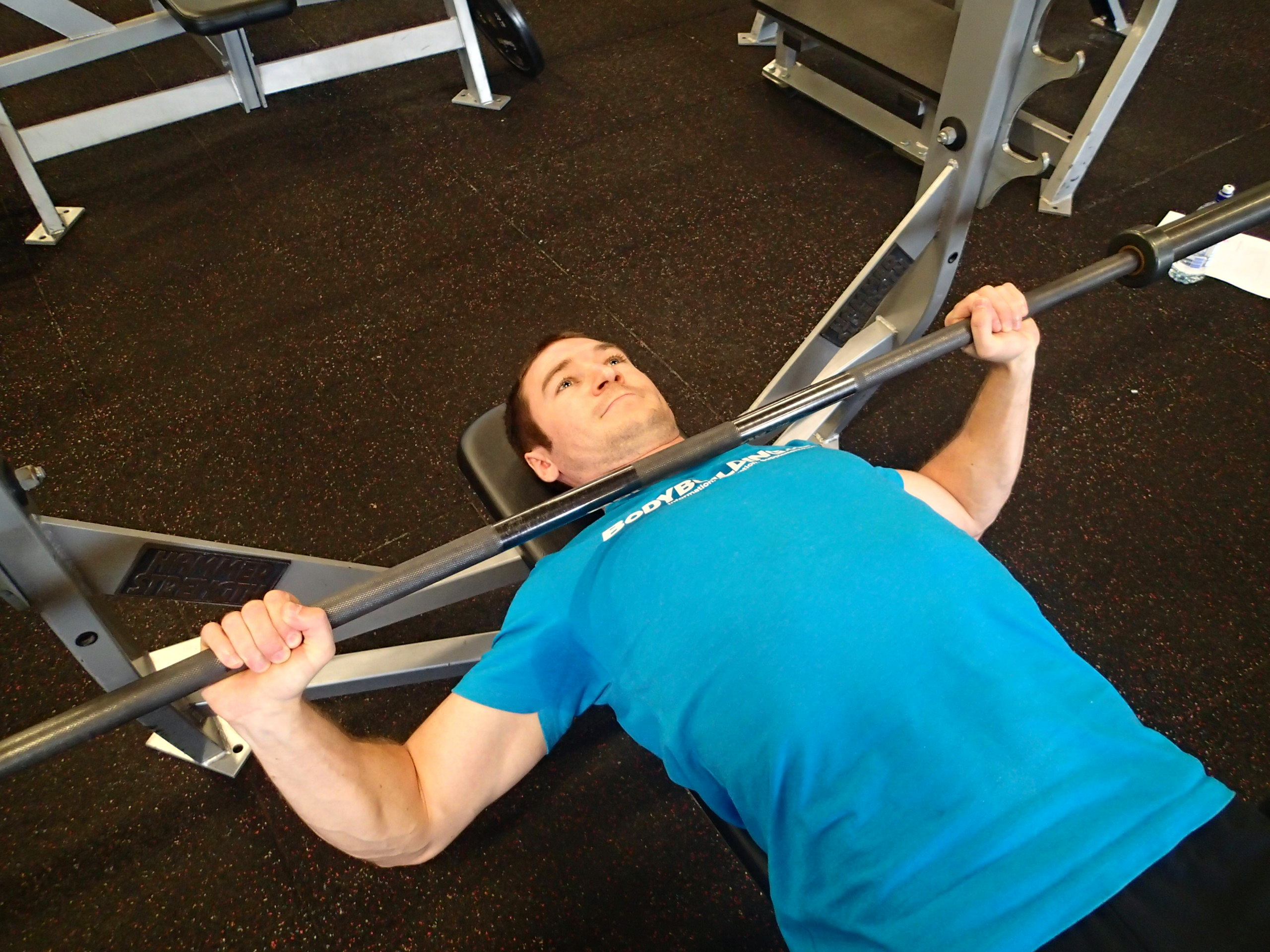 High Bar - Barbell Bench Press