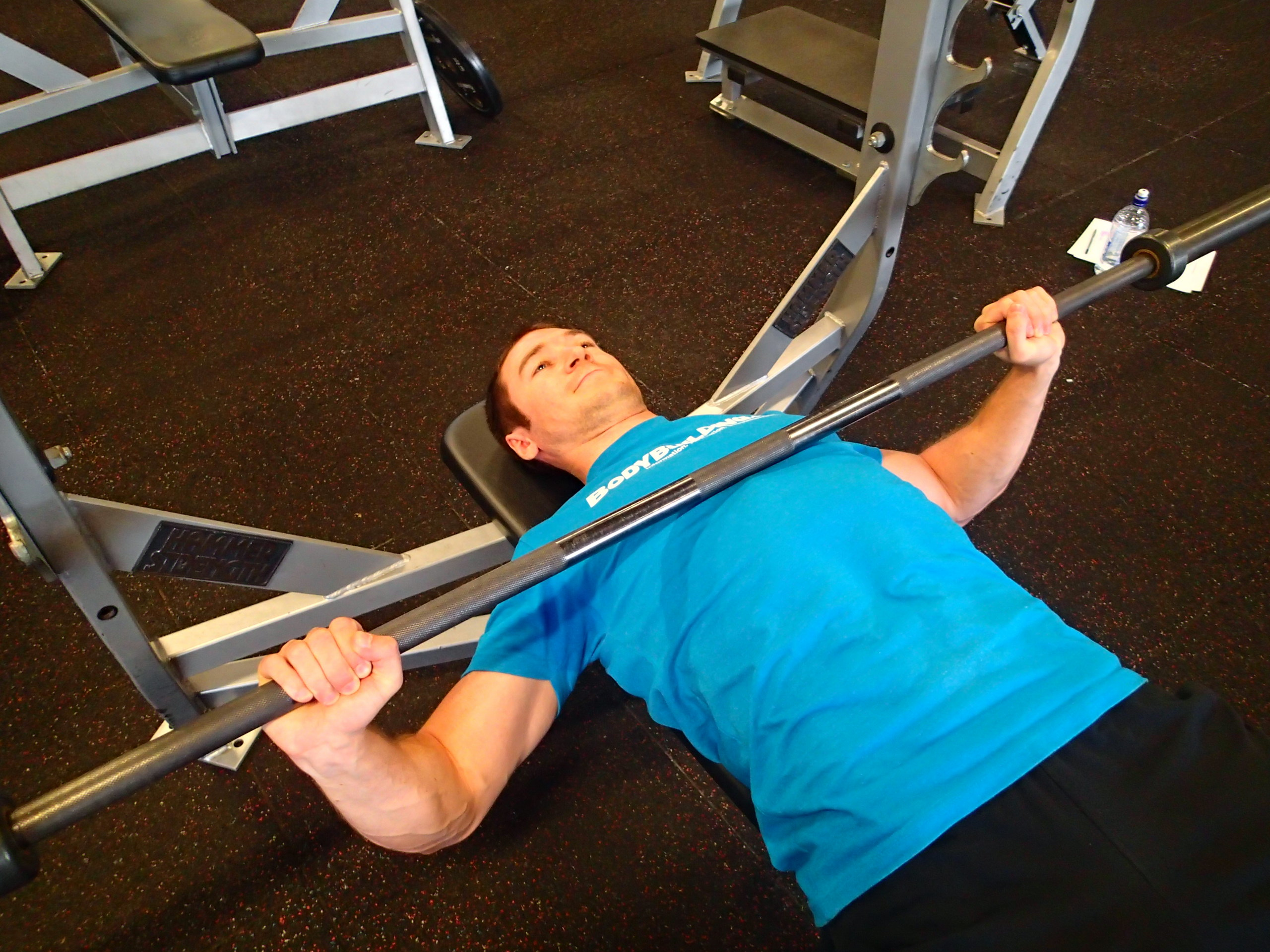 Low Bar - Barbell Bench Press