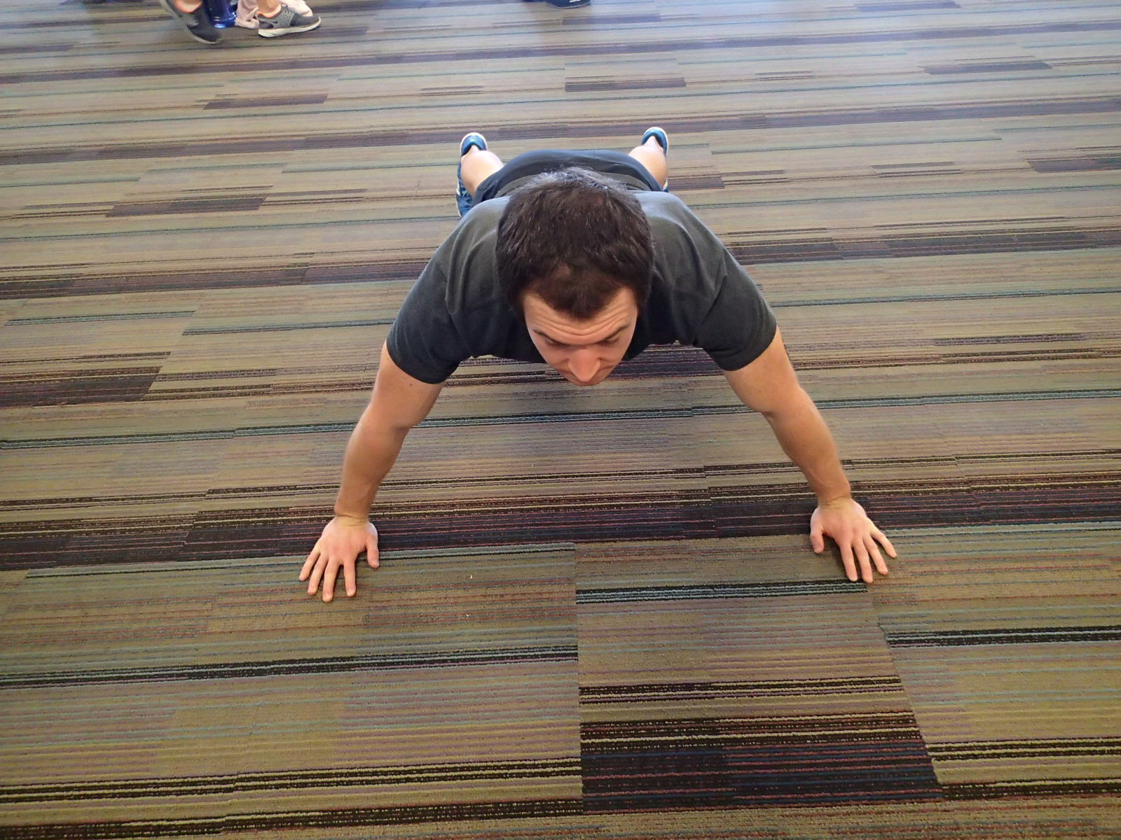 Push-Up - Wide hand placement