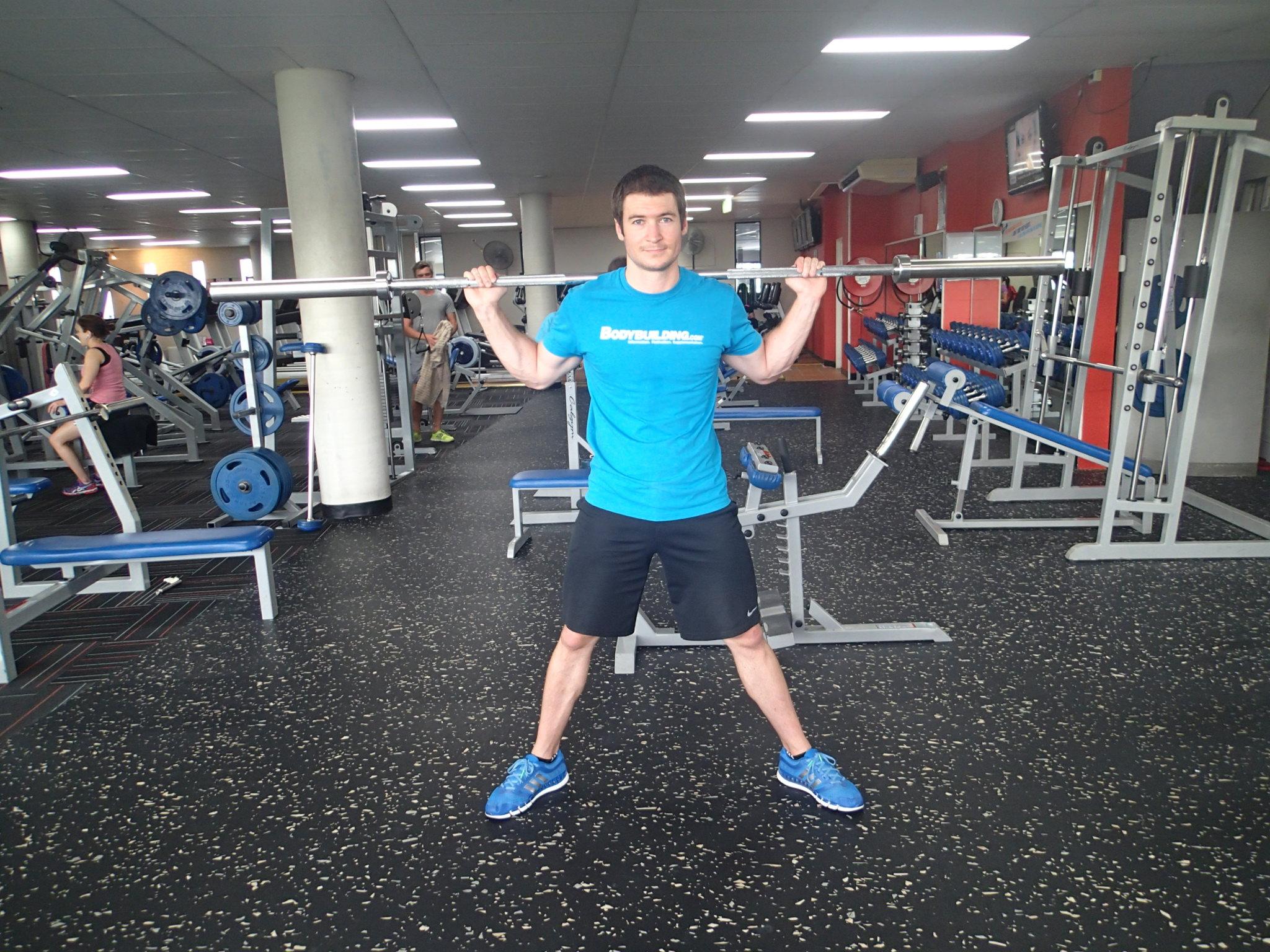 Squat - Wide stance