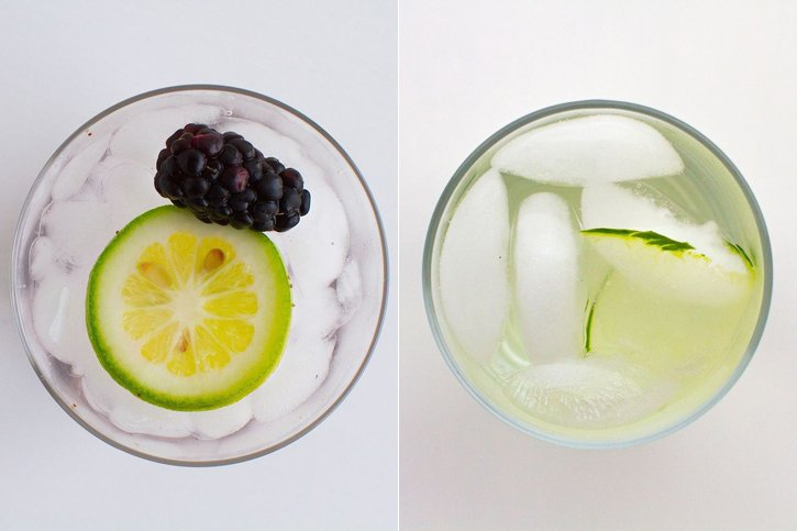 Blackberry Lemon Ginger Water