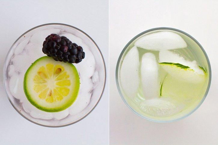 Blackberry Lemon Ginger Water