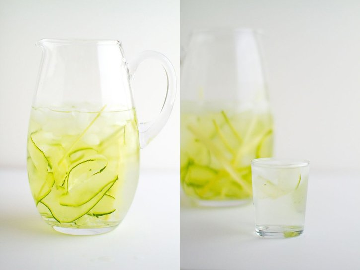 Cucumber Lemongrass Water