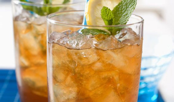 Lemon Peppermint Iced Tea
