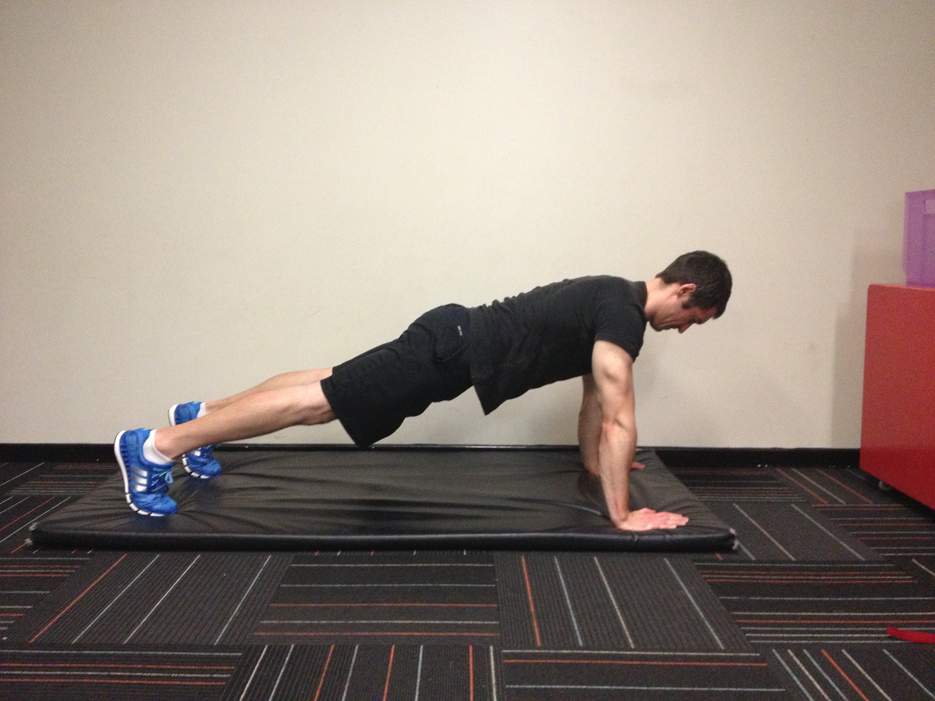 Front Plank - hands