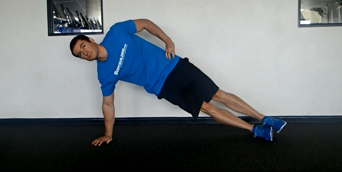 Side Plank - from hand