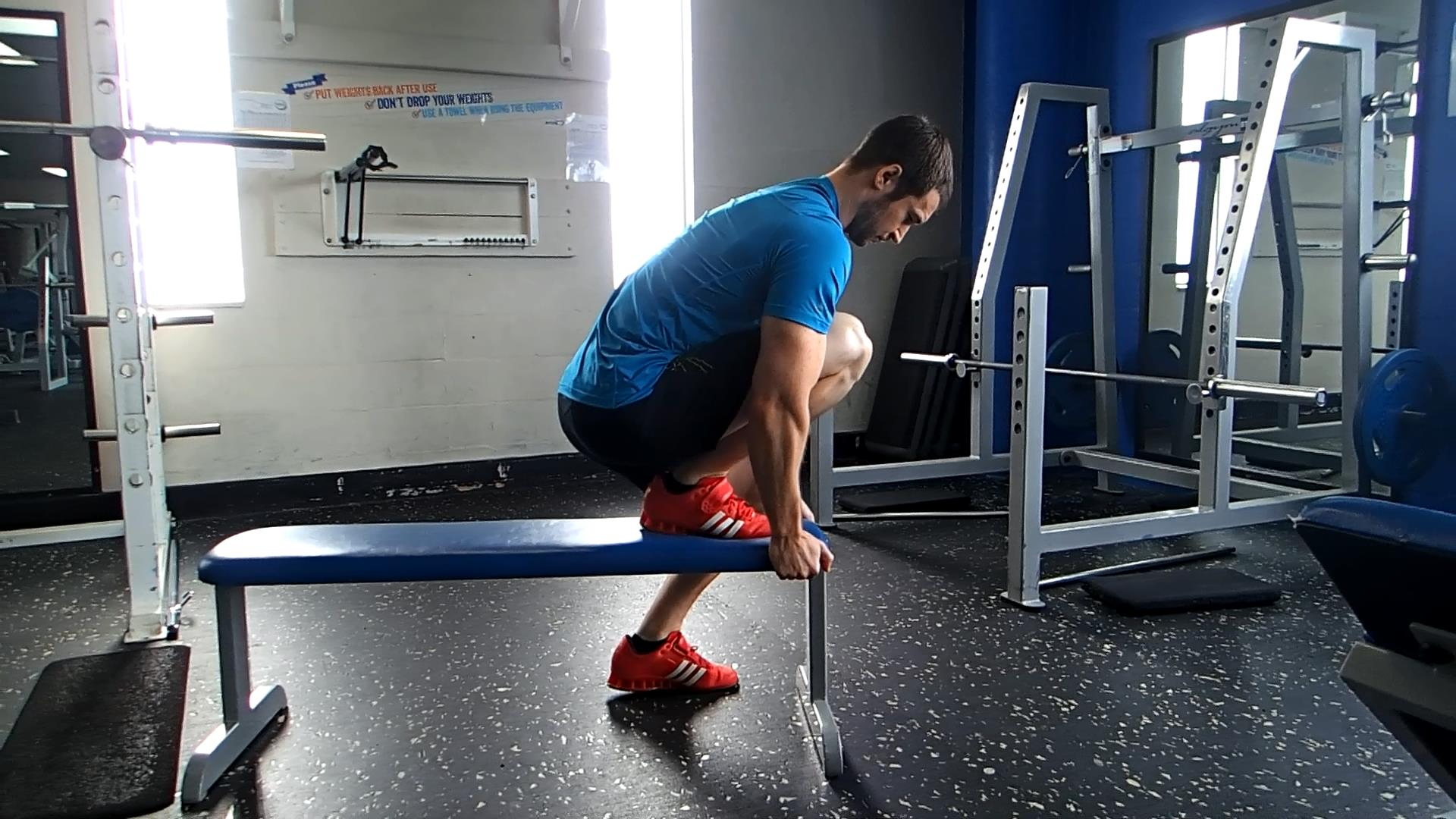 4 - Elevated Forced Ankle Mobility