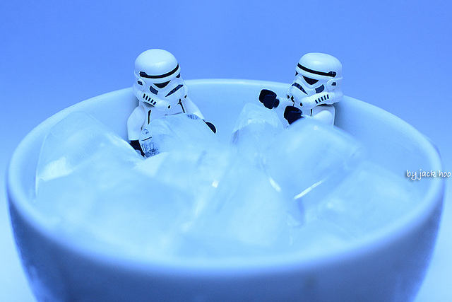 Storm Troopers - ice bath